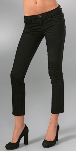 J Brand 7/8th Low Rise Cropped Pencil Leg Jeans