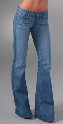 J Brand Lightweight Lovestory Bell Bottom Jeans