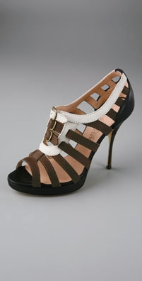 Jean Paul Gaultier Birdcage Platform Open Toe Pumps - shopbop.com from shopbop.com