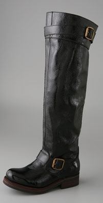 Jeffrey Campbell Wishlist Over the Knee Motorcycle Boot shopbop ...