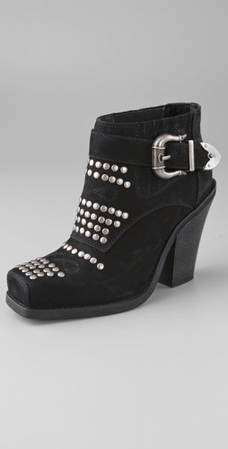 Jeffrey Campbell Maxim Studded Booties