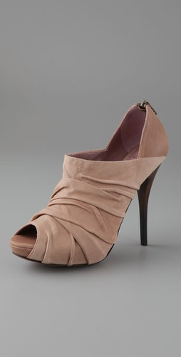 Jean-Michel Cazabat Kama Draped Booties