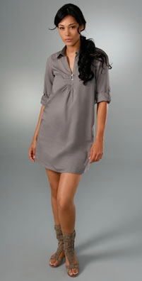 Joie Sima Henley Dress