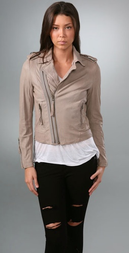 Joie Ailey Leather Moto Jacket