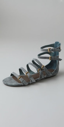 Crimson & Clover Suede Sandals - Joie from shopbop.com