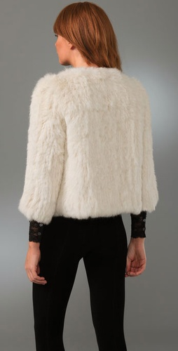 Joie Spence Rabbit Fur Jacket from shopbop.com