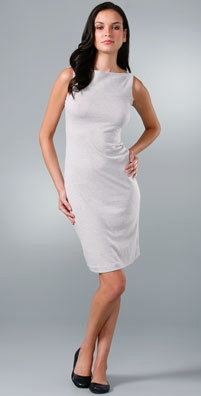 James Perse Boat Neck Sheath Dress