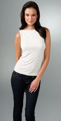 James Perse Boat Neck Tank