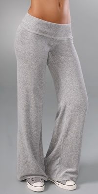 Juicy Couture Velour Wide Leg Pant