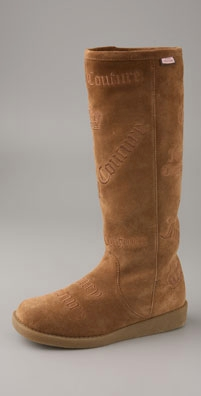 Juicy Couture Angel Faux Fur Lined Logo Boot