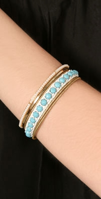 Juicy Couture Studded Bangle Set