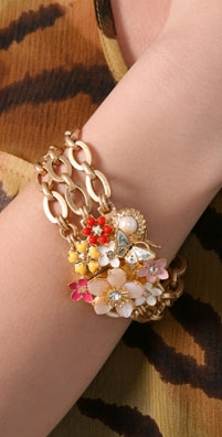 Juicy Couture Blooming Couture Bracelet