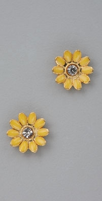 Juicy Couture Flower Studs