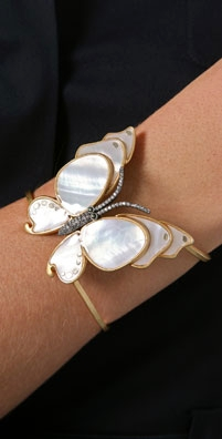 Juicy Couture Butterfly Cuff