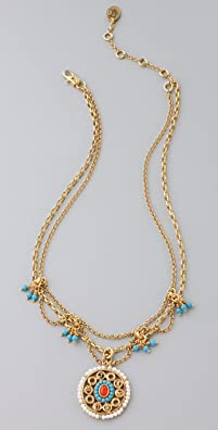 Juicy Couture Layered Necklace, $98 Retail
