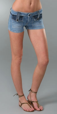 Juicy Couture Mixed Denim Short