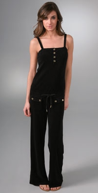 Juicy Couture Terry Wide Leg Jumpsuit