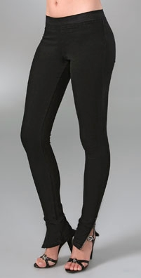 Juicy Couture Denim Leggings with Zipper