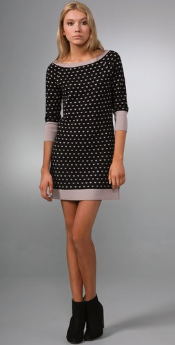 Juicy Couture Heart Boat Neck Dress