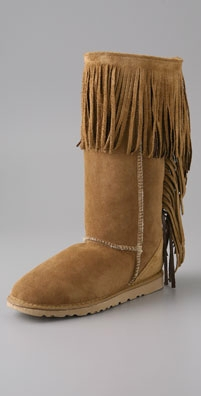 Kettle Black Koolaburra by Kettle Black - Tall Fringe Boot