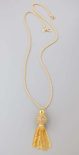 Kenneth Jay Lane Tassel Necklace