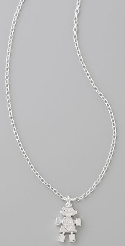 Karen Walker Girl Robot Necklace from shopbop.com