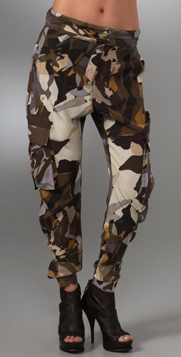 L.A.M.B. Camo Cargo Pants