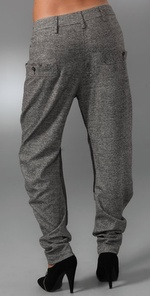 L.A.M.B. Tweed Harem Pants