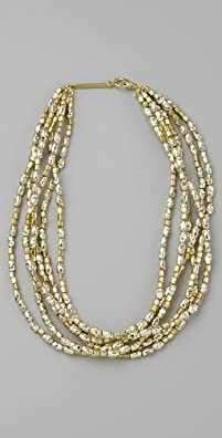 Rachel Leigh Gold Nugget Necklace, $58 Retail