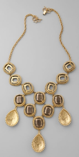 Rachel Leigh Jewelry Cleo Teardrop Collar Necklace