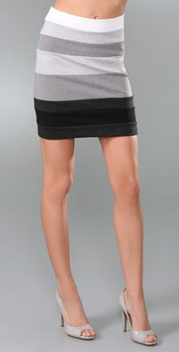 Larsen Gray Ombre Band Skirt - shopbop.com from shopbop.com