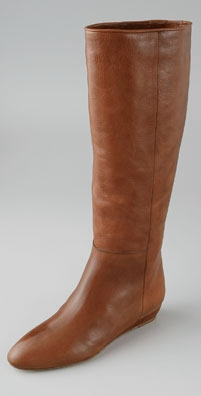 Loeffler Randall Matilde Flat Wedge Leather Boot