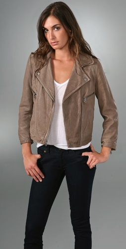 Madewell Leather Biker Jacket