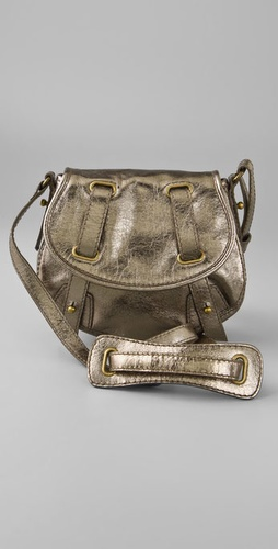 Madewell Metallic Mini Messenger Bag