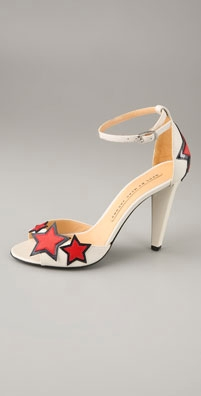 Marc by Marc Jacobs Stars Two Piece High Heel Sandal from shopbop.com
