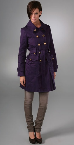 Marc by Marc Jacobs Fine Twill Trench
