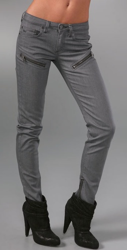 Zipper Skinny Jeans Marc by Marc Jacobs - Stylehive