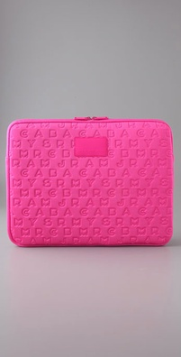 Marc by Marc Jacobs Jumble Logo Computer Sleeve