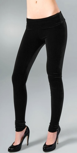 MEMBERS ONLY Stretch Velvet Leggings