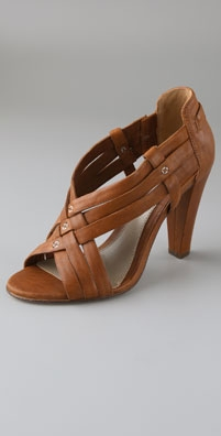 Mike & Chris Horatio Crisscross High Heel Sandals from shopbop.com