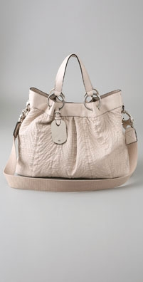 Mulberry Quilted Shimmy Tote