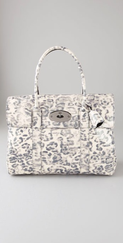 Mulberry Smudged Leopard Bayswater Tote