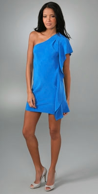 Madison Marcus Saturation One Shoulder Dress - shopbop.com from shopbop.com