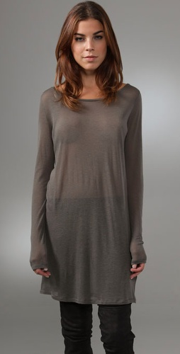 Majestic Boat Neck Tunic from shopbop.com