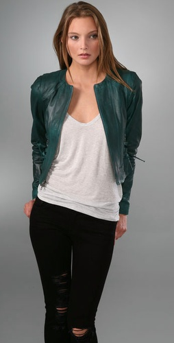 Nanette Lepore Mae's Leather Jacket