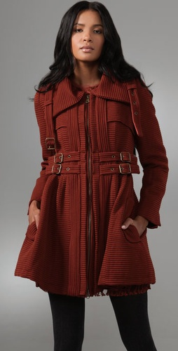 Nanette Lepore Poison Ring Coat from shopbop.com