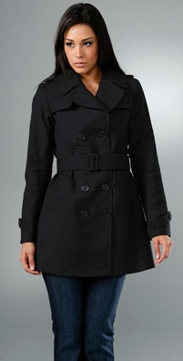 Nili Lotan Double Breasted Trench