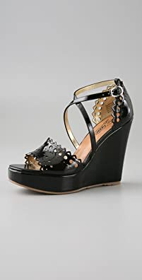 Oh...Deer! Patent Murray Platform Wedge - shopbop.com from shopbop.com