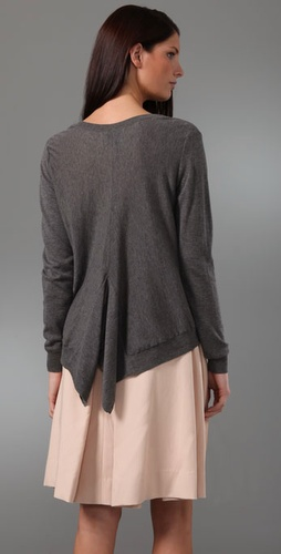 3.1 Phillip Lim Drape Back Pullover Sweater from shopbop.com