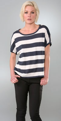 Rag & Bone Wide Stripe Top